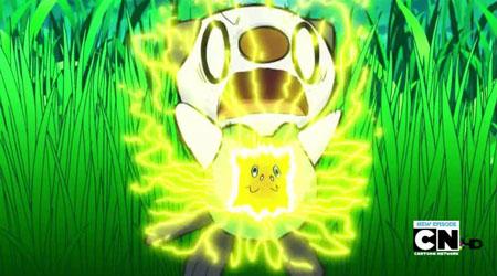 Pikachu Iron Tail Gif Pikachu Uses Iron Tail to
