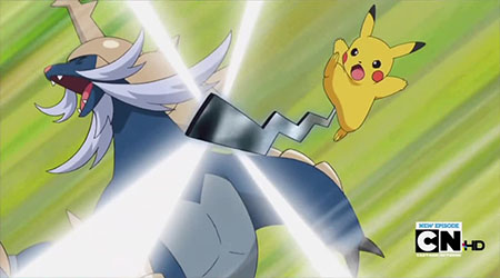 What item do you give pikachu to learn electro ball ...